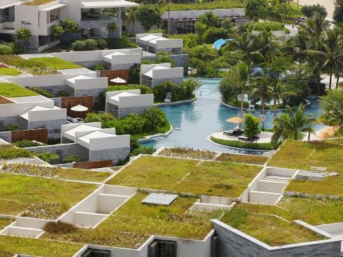 三亚半山半岛洲际度假酒店地图 图片合集