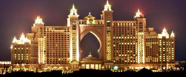 豪華的迪拜亞特蘭蒂斯酒店!