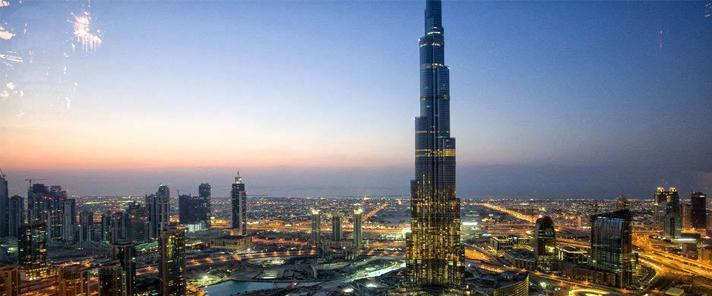 世界最高建筑迪拜塔!