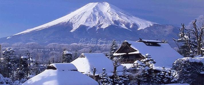 北海道雪景