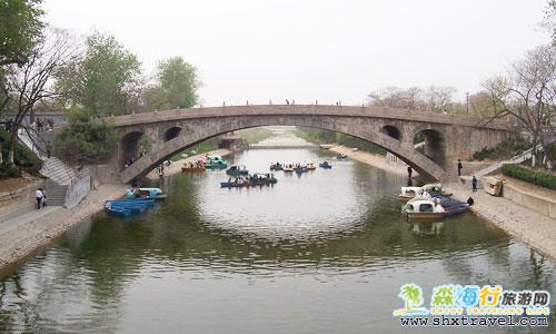 世界上现存最古老的石拱桥 赵州桥